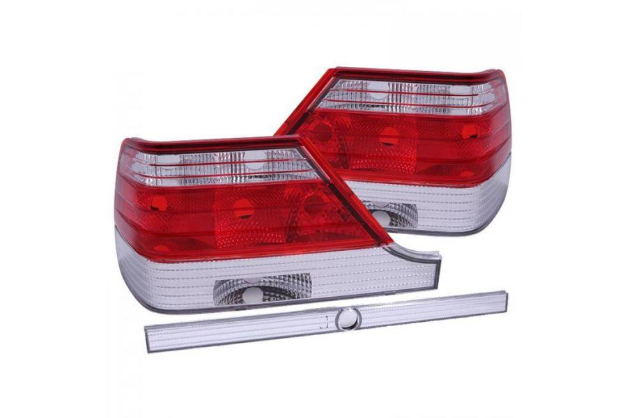 Anzo Red / Clear Tail Lights - Anzo 221153