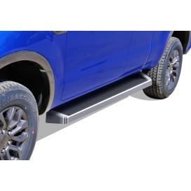 "6"" iRunning Board Cab Length Polished Running Boards"