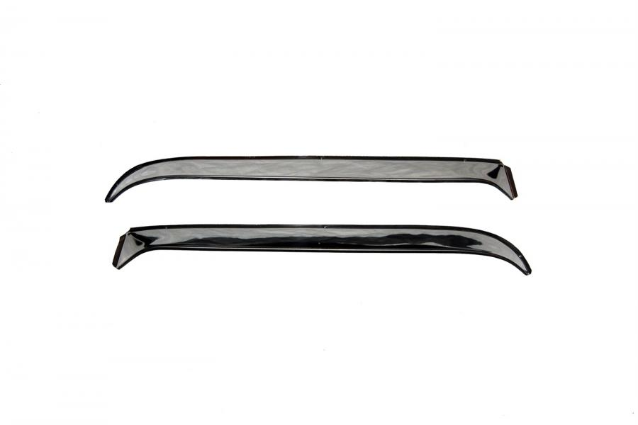 AVS Ventshade Stainless Steel Front Window Deflectors - AVS 12505