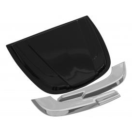 "AVS 2.5"" x 18.25"" x 23"" Large Unpainted Hood Scoop"