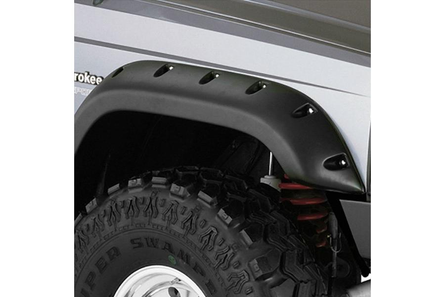 Bushwacker Cut-Out Front Fender Flares - Bushwacker 10035-07