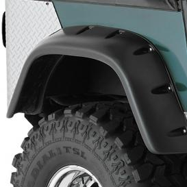 Cut-Out Rear Fender Flares