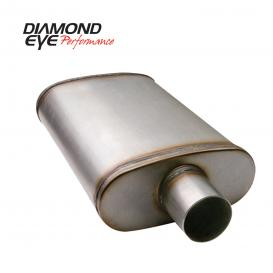 Diamond Eye Performance MFLR 3-1/2in DL IN/DL OUT 22in BODY 28in OVERALL OVAL