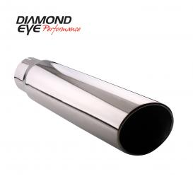 Diamond Eye Performance TIP 5inX6inX18in ROLLED-ANGLE