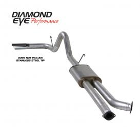 Diamond Eye Performance KIT 3-1/2in CB SGL GAS AL TOYOTA TUNDRA 5.7L 07-10