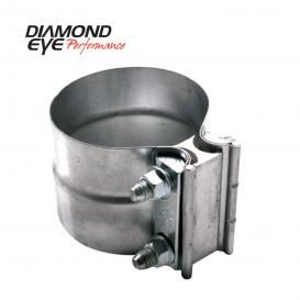 Diamond Eye Performance 3.5in LAP JOINT CLAMP 304 SS
