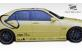 Duraflex Fiberglass V-Speed Side Skirts Rocker Panels (Unpainted) - Duraflex 100098