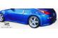 Duraflex Fiberglass V-Speed Side Skirts Rocker Panels (Unpainted) - Duraflex 105647