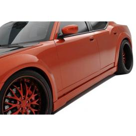 Polyurethane Luxe Wide Body Side Skirts Rocker Panels (Unpainted)