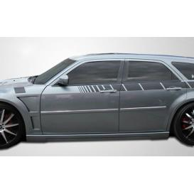 Polyurethane Luxe Side Skirts Rocker Panels (Unpainted)