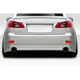 Fiberglass V Speed Rear Lip Air Dam (Unpainted)