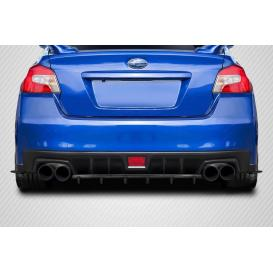 Carbon Fiber C Speed Style Rear Diffuser