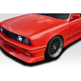 Fiberglass M3 Look Wide Body Front Fenders (Unpainted)