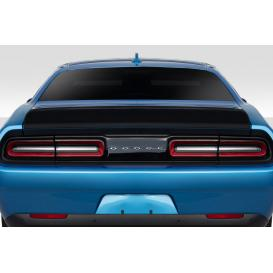 Fiberglass Iconic Rear Wing Trunk Lid Spoiler (Unpainted)