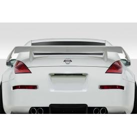 Fiberglass Power Rear Wing Spoiler (Unpained)