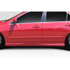 Fiberglass Type M Side Skirts Rocker Panels (Unpained)