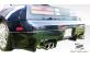 Duraflex Fiberglass Vader Rear Lip Under Spoiler Air Dam (Unpainted) - Duraflex 100973