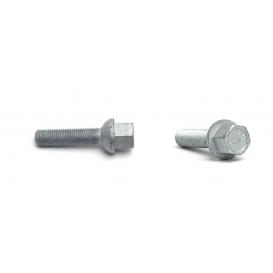 VW / Audi Ball 45mm Thread Length Silver Wheel Lug Bolt - Set of 20