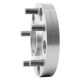 TRAK+ DRM Series 25mm Silver Wheel Spacers - Pair