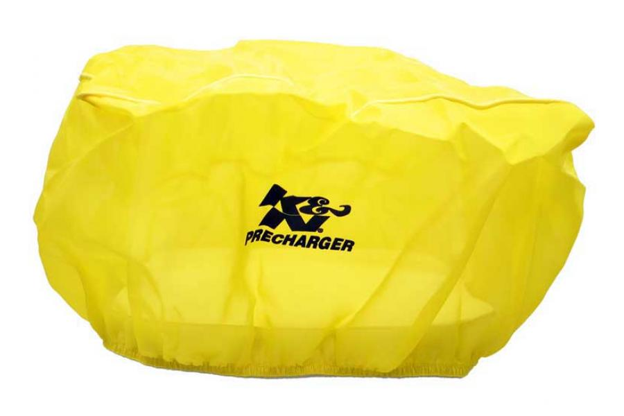 K&N Yellow Rectangle Straight Precharger Air Filter Wrap - K&N 100-8562PY