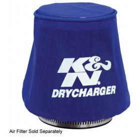 Blue Round Tapered Drycharger Air Filter Wrap
