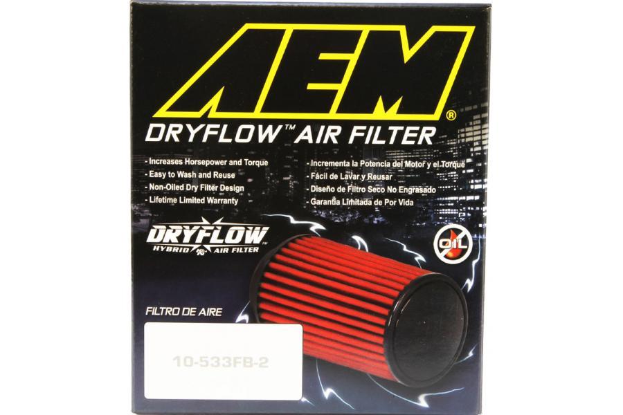 K/&N AEM-21-202DK AEM DryFlow Air Filter