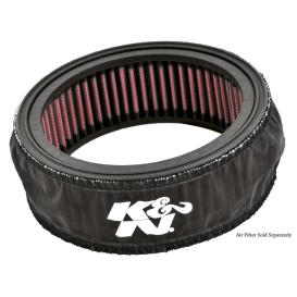 Black Round Straight Drycharger Air Filter Wrap