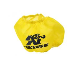 Yellow Round Tapered Precharger Air Filter Wrap