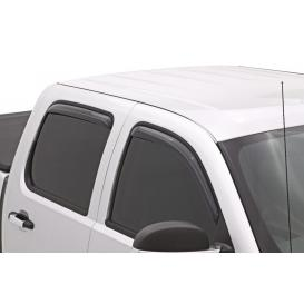 Lund In-Channel Elite Light Smoke Front & Rear Vent Visors