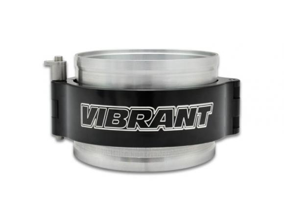 Vibrant Performance 2.5in HD Clamp System Assembly - Anodized Black - Vibrant Performance 12515