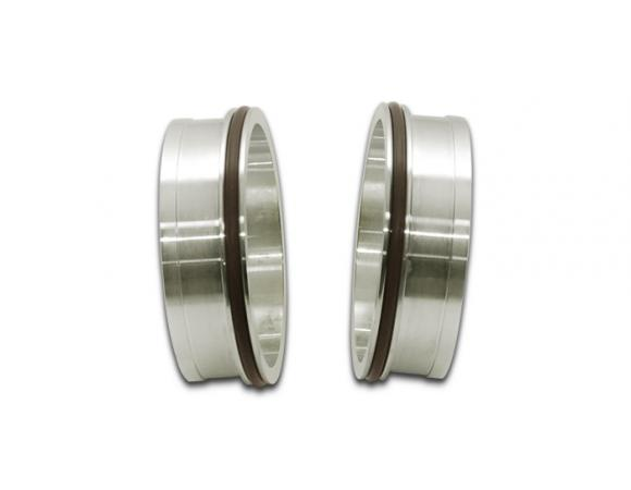 Vibrant Performance Stainless Steel Weld Fitting w/ O-Rings for 2.5in OD Tubing - Vibrant Performance 12555