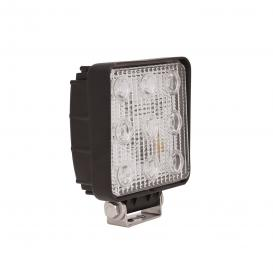"Utility Series Stud Mount 4.6""x5.3"" 27W Square Spot Beam LED Light"