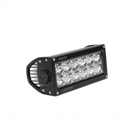 "Performance-2X 6"" Dual Row 36W Flood Beam Low Profile LED Light Bar"
