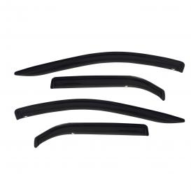 Westin Tape-On Slim Design Smoke Front and Rear Window Deflectors