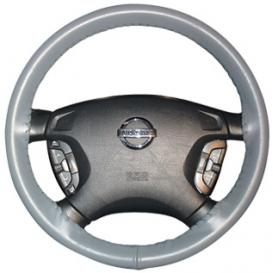 Wheelskins Original One-Color Leather Steering Wheel Cover