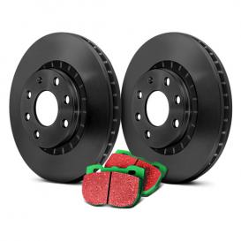 EBC S11 Brake Kit - Greenstuff Pads and RK Premium..