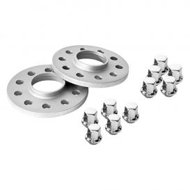 TRAK+ DR Series 7mm Silver Wheel Spacers - Pair