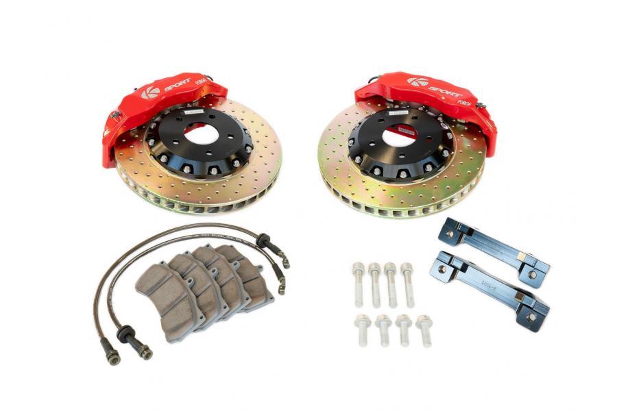 Ksport BKNS300-632SO 13 4-Piston ProComp Rear Brake Kit