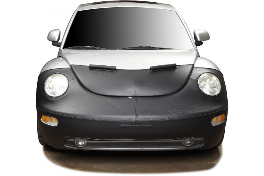 Vinyl, Black Lebra Covercraft Custom Fit Front End Cover for Chevrolet Aveo5