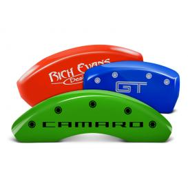 MGP Engraved Colored Caliper Covers
