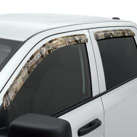 Stampede Smoke Tape-Onz Front and Rear Sidewind Deflectors