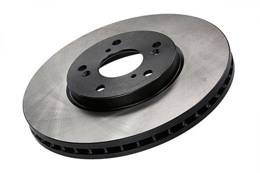 Centric Cryostop Hi-Carbon Brake Rotor - Front Left - Centric 125.61044CRY
