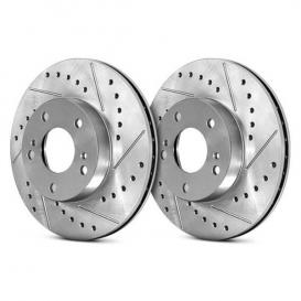 Select Sport Drilled & Slotted Brake Rotor - Front Right