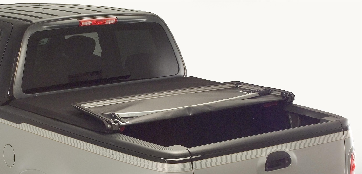 Advantage Truck Accessories Torza Premier Tri-Fold Tonneau Cover - Advantage Truck Accessories 26122