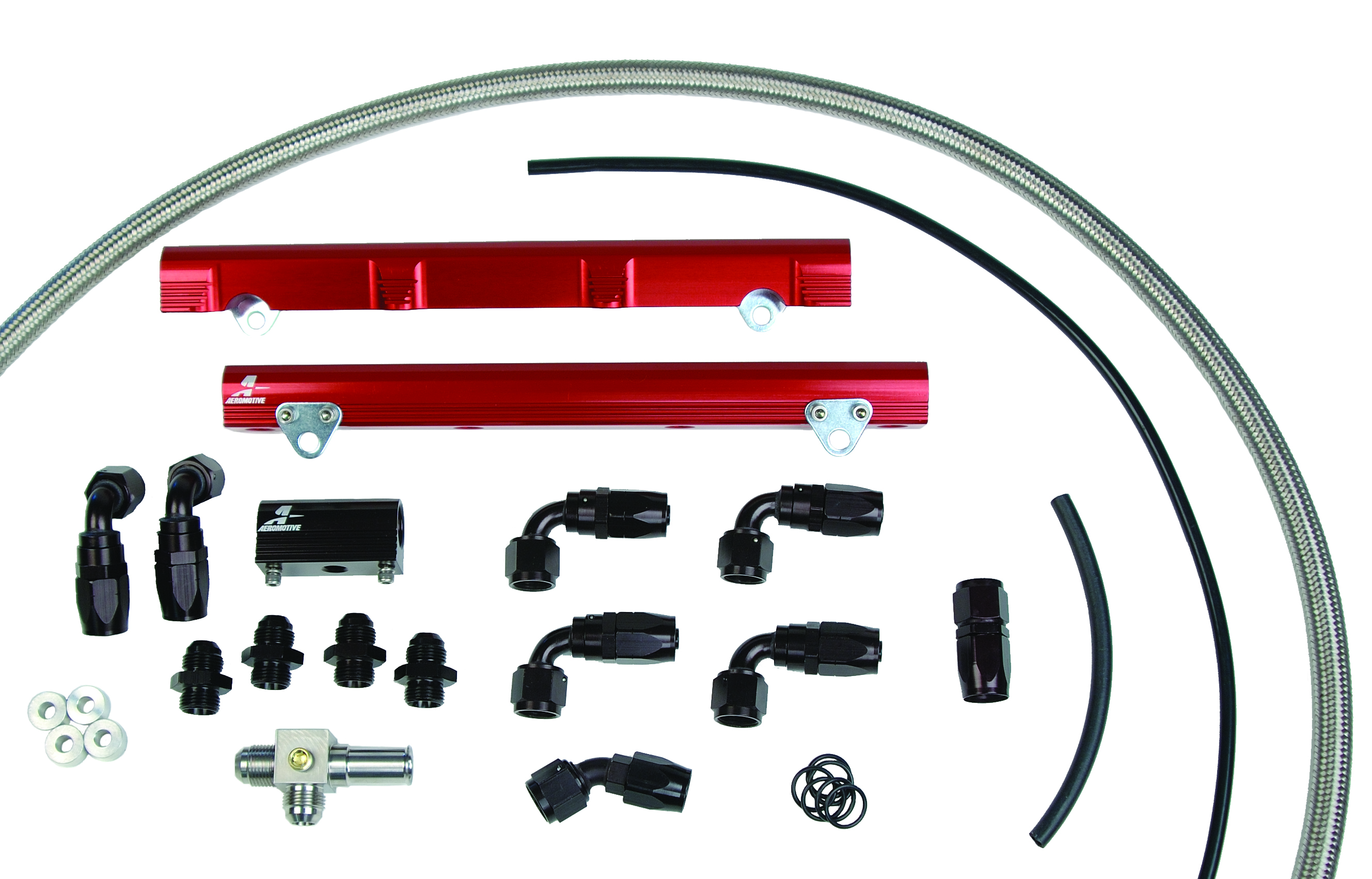Aeromotive 98.5-04 Ford DOHC 4.6L Fuel Rail System (Cobra) - Aeromotive 14122