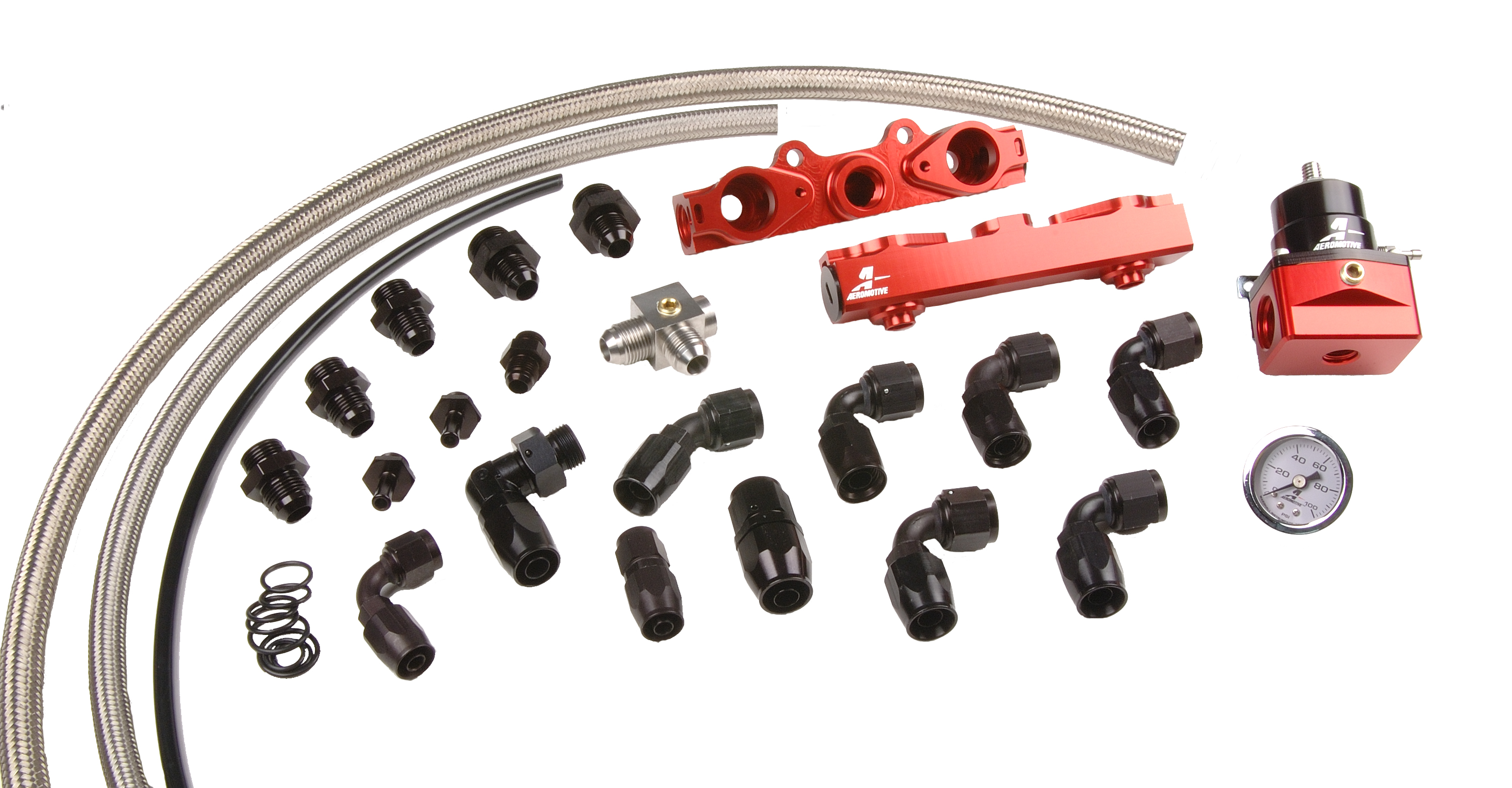 Aeromotive 04-06 2.5L Side Feed Injector Subaru STI Fuel Rail Kit - Aeromotive 14137