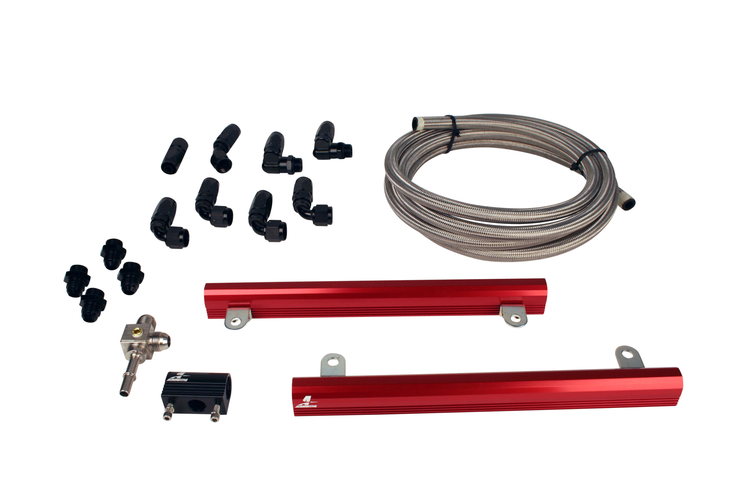 Aeromotive 07 Ford 5.4L GT500 Mustang Fuel Rail Kit - Aeromotive 14145