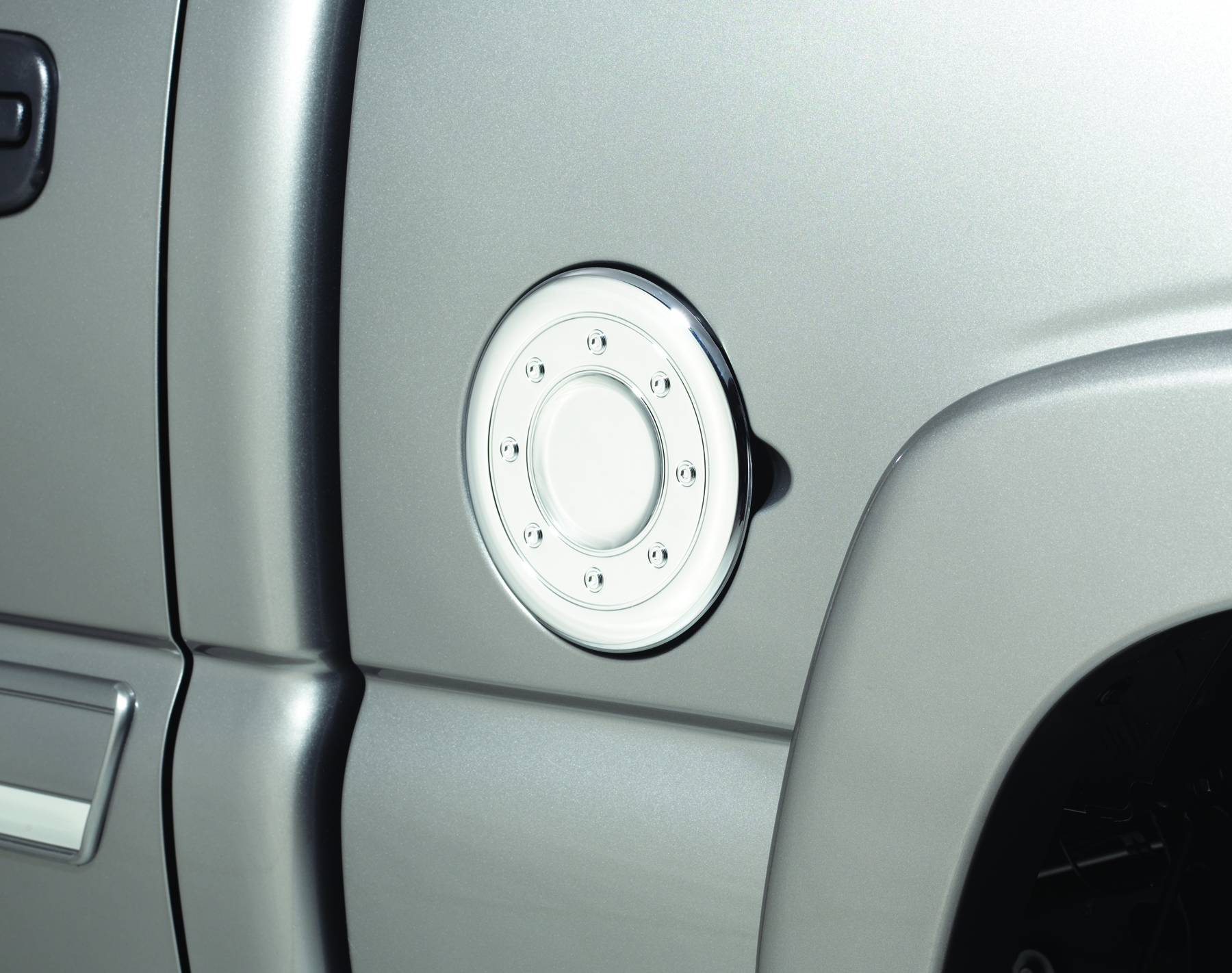 AVS Chrome Fuel Door Cover - AVS 688773
