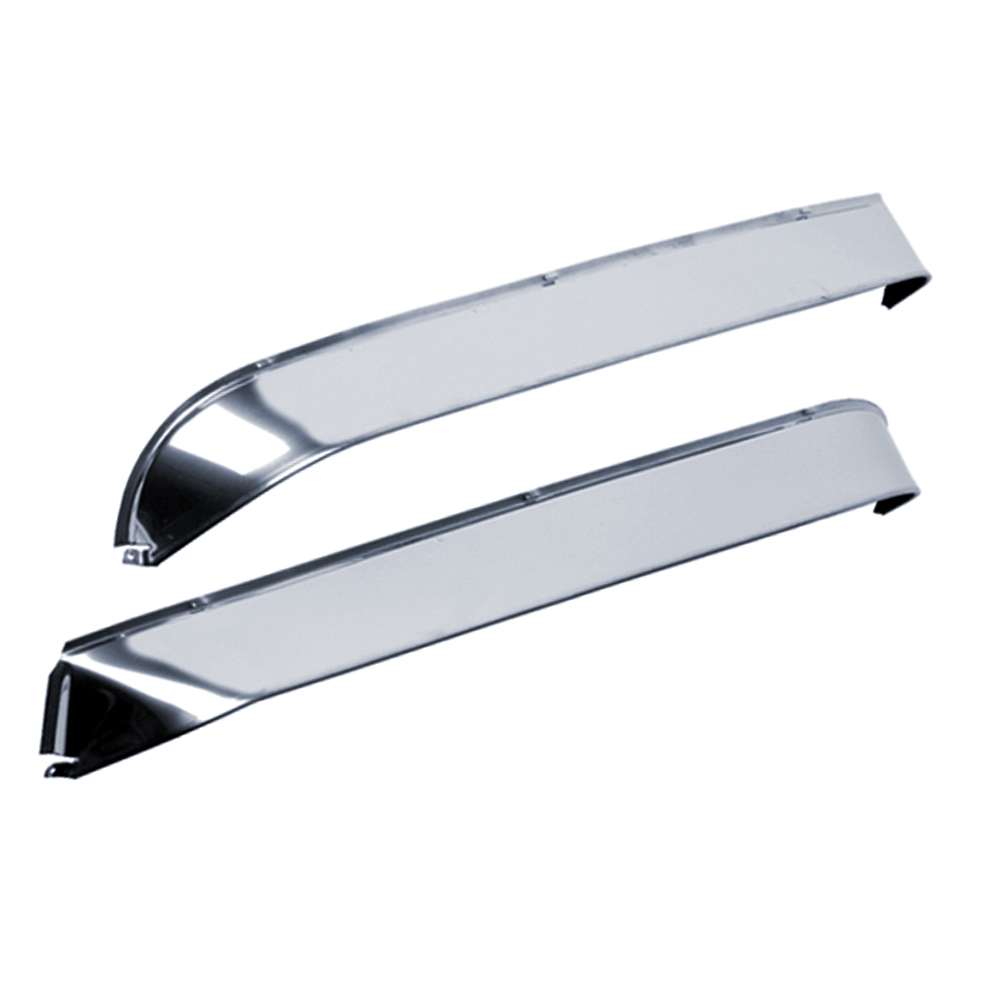 AVS Stainless Steel Ventshade Side Window Vent - AVS 12059