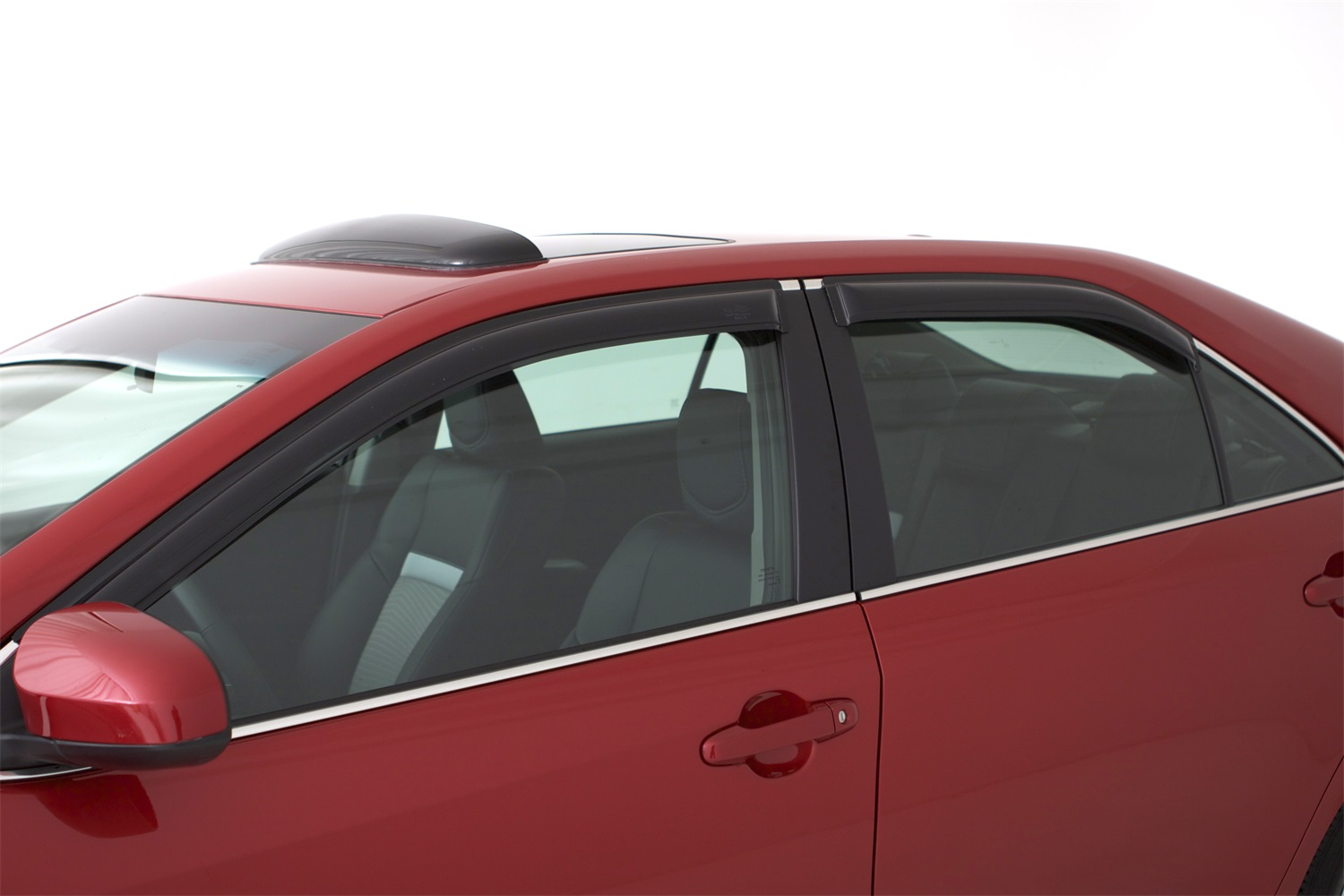 AVS Smoke Ventvisor Window Deflectors - 4 Pieces - AVS 94773